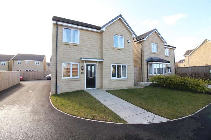 4 Bedrooms Detached House for sale in Dally Gardens, Blyth