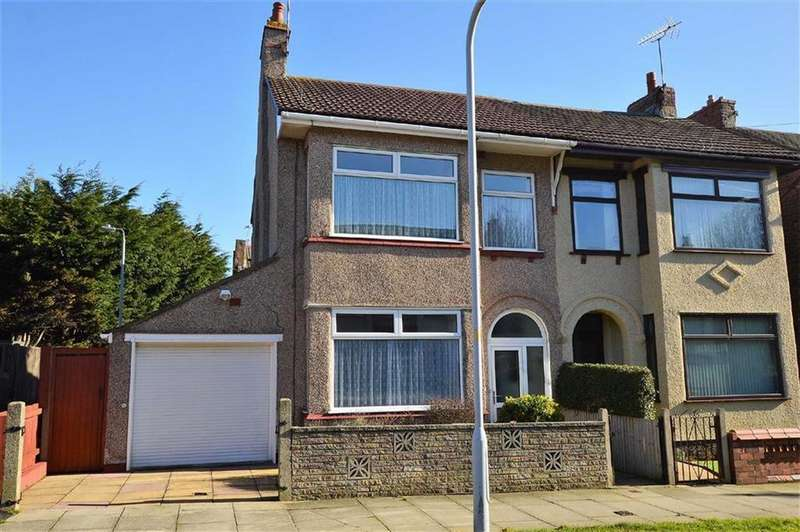 3 Bedrooms Semi Detached House for sale in St Nicholas Road, CH45