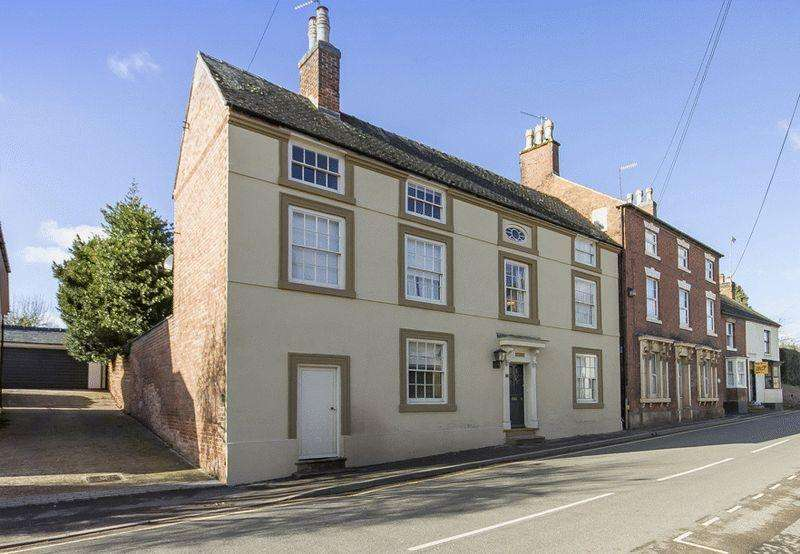 5 Bedrooms Detached House for sale in ST WYSTANS HOUSE, HIGH STREET, REPTON