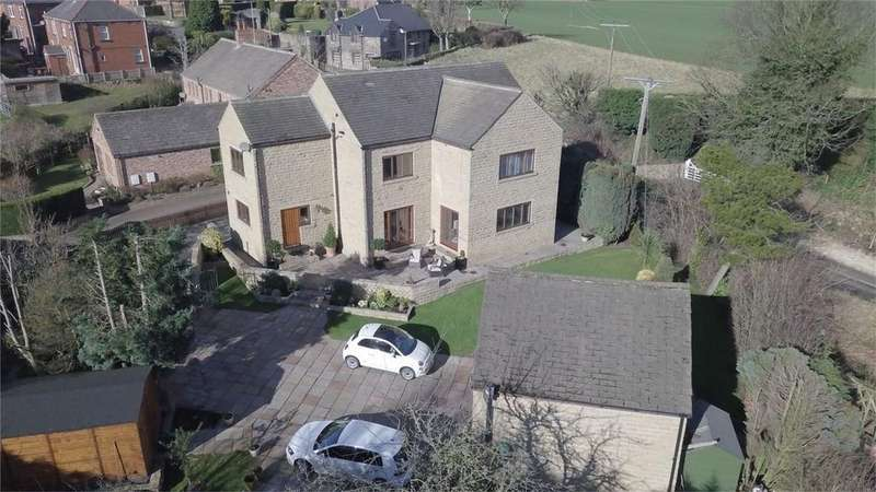 5 Bedrooms Detached House for sale in George Lane, Notton, West Yorkshire
