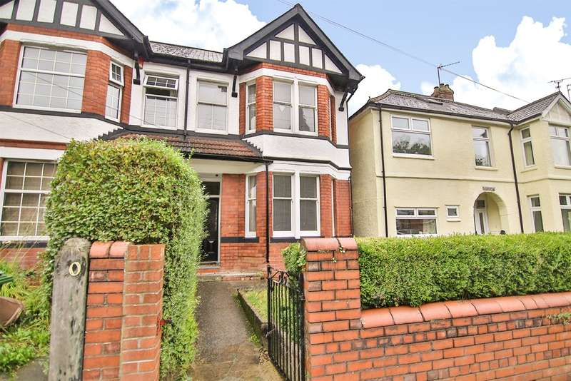 4 Bedrooms Semi Detached House for sale in Fidlas Road, Llanishen, Cardiff