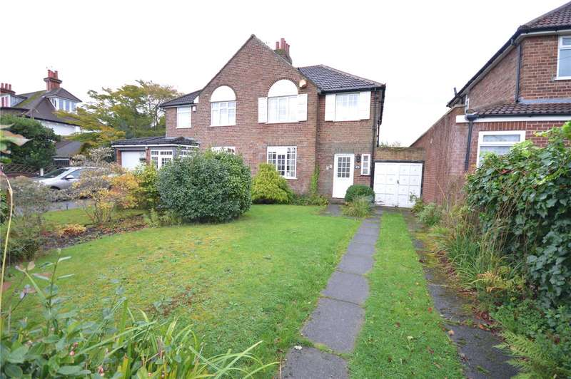 3 Bedrooms Semi Detached House for sale in Orient Drive, Woolton, Liverpool, L25