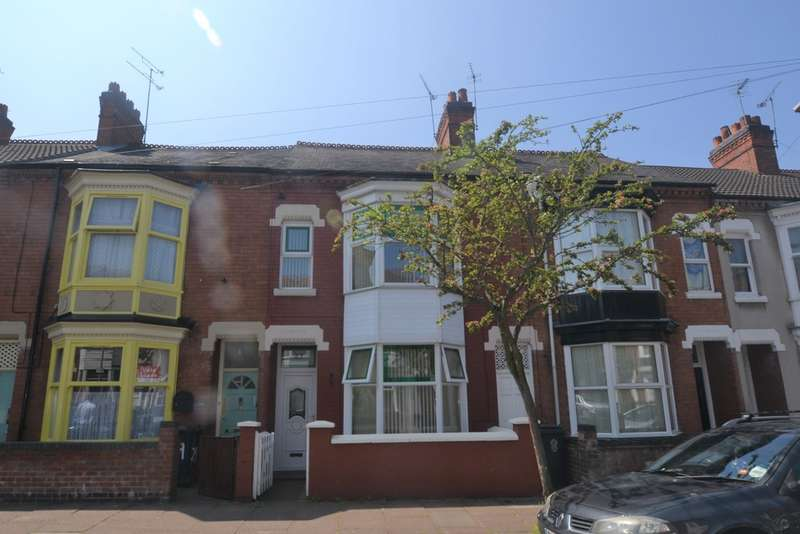 3 Bedrooms Terraced House for sale in Stuart Street, West End, Leicester LE3