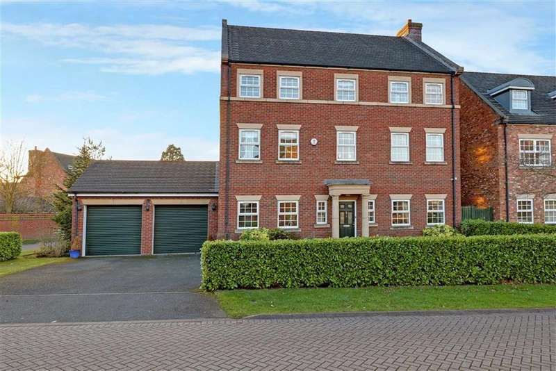 6 Bedrooms Detached House for sale in Burgess Close, Stapeley, Nantwich