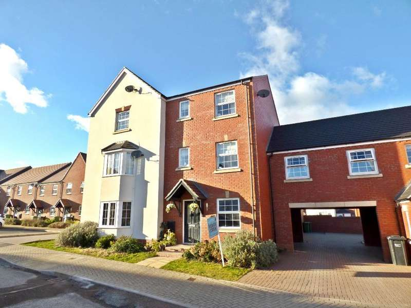 4 Bedrooms Town House for sale in Green Wilding Road, The Furlongs, Holmer, Hereford