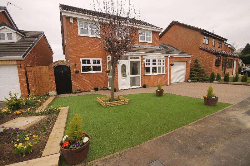 4 Bedrooms Detached House for sale in Burnston Close, Hartlepool