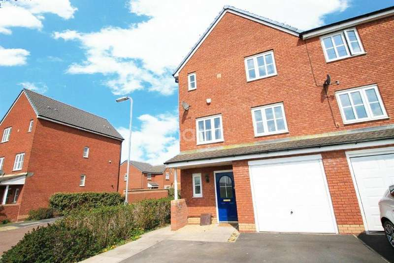 4 Bedrooms End Of Terrace House for sale in Amelia Way, Newport, NP19