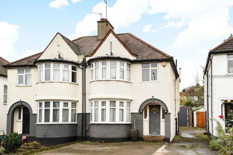 3 Bedrooms House for sale in Great North Way, Hendon, NW4, NW4
