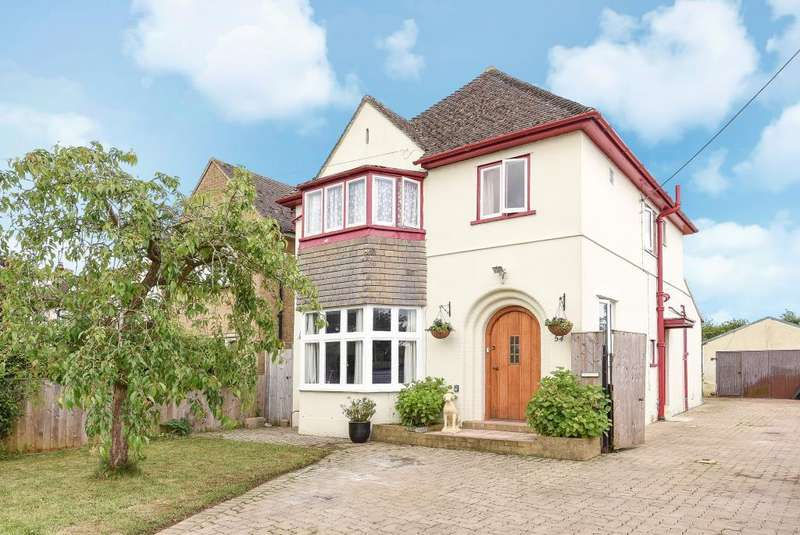 3 Bedrooms Detached House for sale in New Yatt Road, Witney, OX28