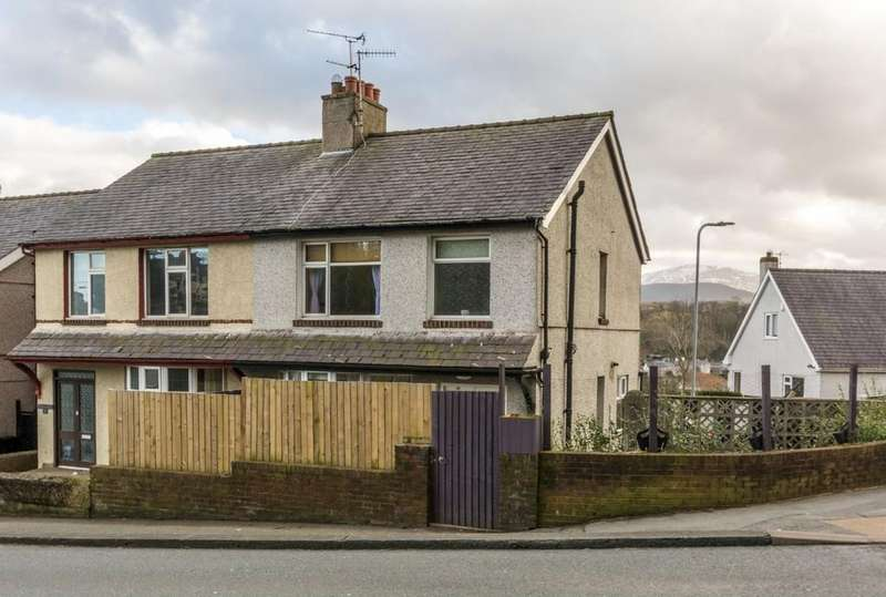 3 Bedrooms Semi Detached House for sale in Penrhos Road, Bangor, North Wales