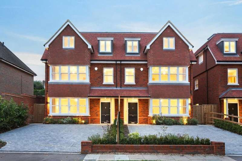 5 Bedrooms Semi Detached House for sale in Plot 1, Shrublands Road, Berkhamsted, Hertfordshire, HP4