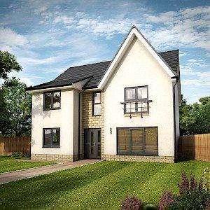 4 Bedrooms Detached House for sale in Plot 55, Savannah, Dovecot Grange, Haddington, East Lothian