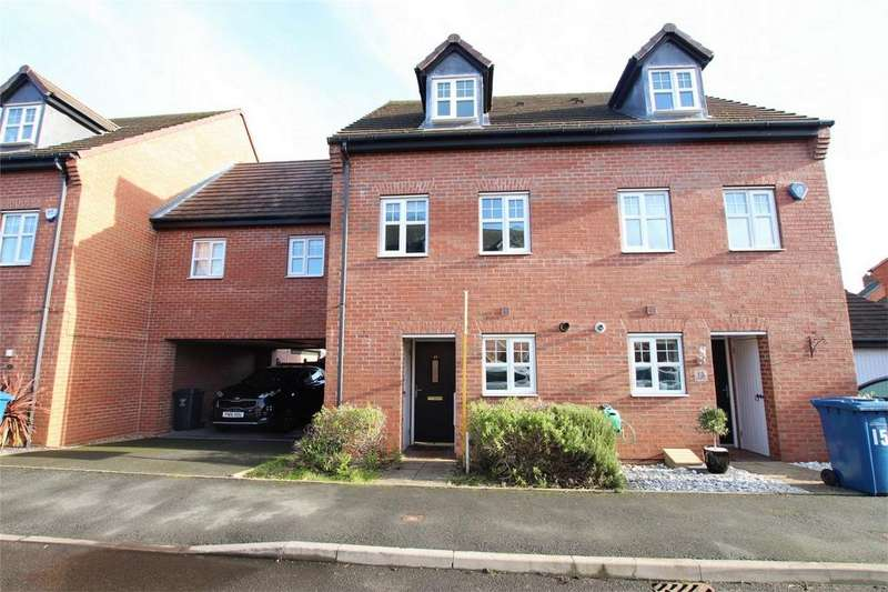 3 Bedrooms Town House for sale in Trafalgar Way, Lichfield, Staffordshire