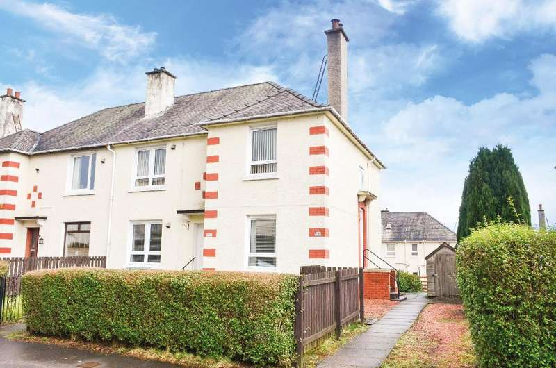2 Bedrooms Flat for sale in Friarscourt Avenue, Knightswood, Glasgow, G13 2LE