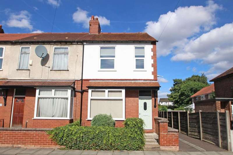 2 Bedrooms End Of Terrace House for rent in Falcon Avenue, Urmston, Manchester, M41