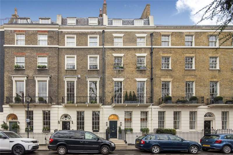 5 Bedrooms Terraced House for sale in Connaught Square, Hyde Park, W2
