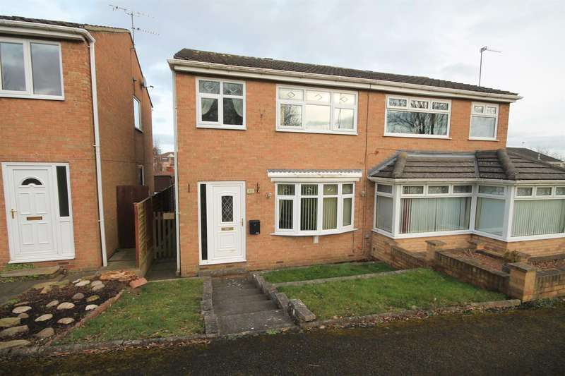 3 Bedrooms Semi Detached House for sale in Ashbrook Close, Brandon, Durham