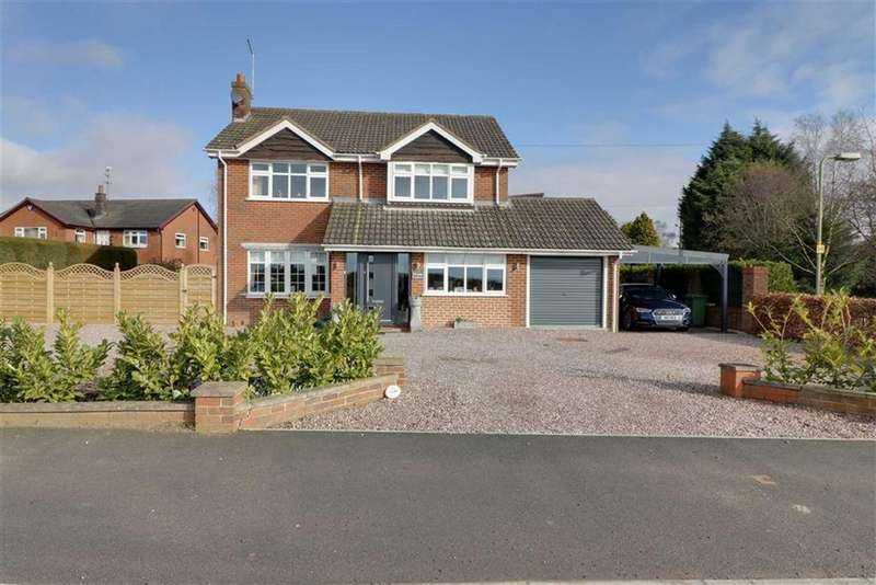 4 Bedrooms Detached House for sale in Audlem Road, Woore, Nr Crewe