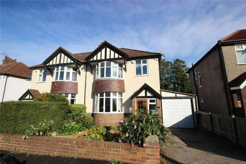 4 Bedrooms Semi Detached House for sale in Lampeter Road, Westbury-On-Trym, Bristol, BS9