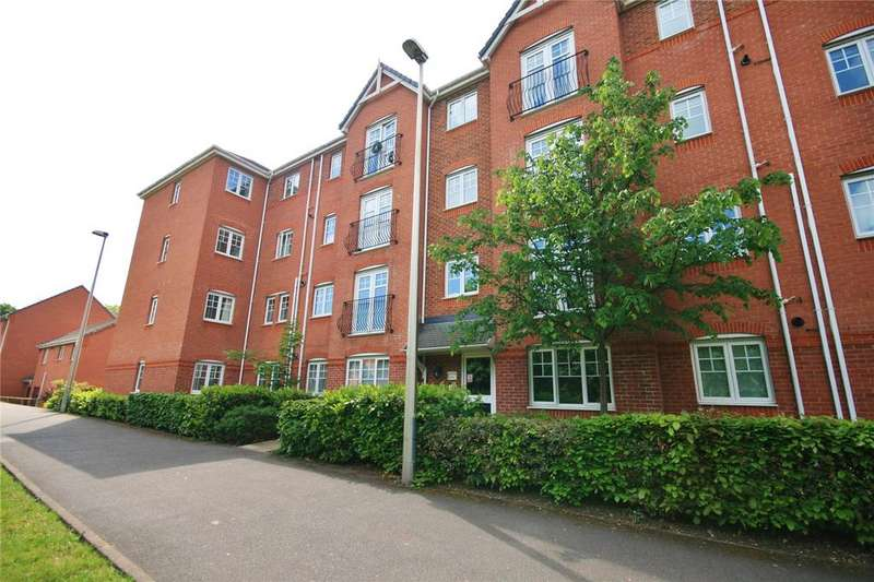 2 Bedrooms Apartment Flat for sale in Trevithick House, Blount Close, Crewe, Cheshire, CW1