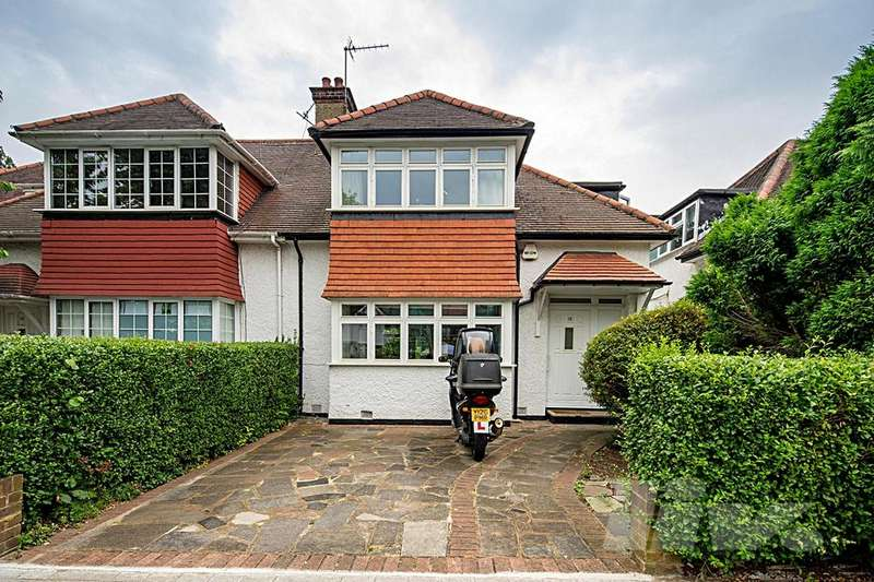 3 Bedrooms House for sale in Greenfield Gardens, Cricklewood, NW2
