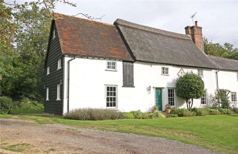 4 Bedrooms Semi Detached House for sale in Maltings Lane, Great Chishill, Royston, Herts, SG8