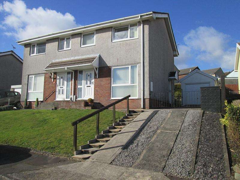 3 Bedrooms Semi Detached House for sale in Rustic Close, Sketty, Swansea, City And County of Swansea.