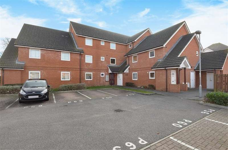 1 Bedroom Flat for sale in Puccinia Court, Yeoman Drive, Stanwell, Surrey