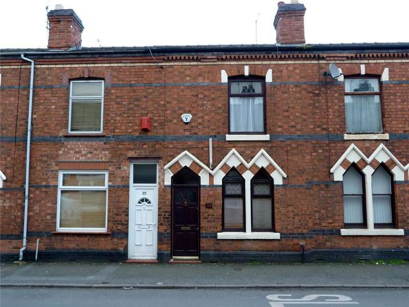 2 Bedrooms Terraced House for sale in Alton Street, Crewe, Cheshire, CW2