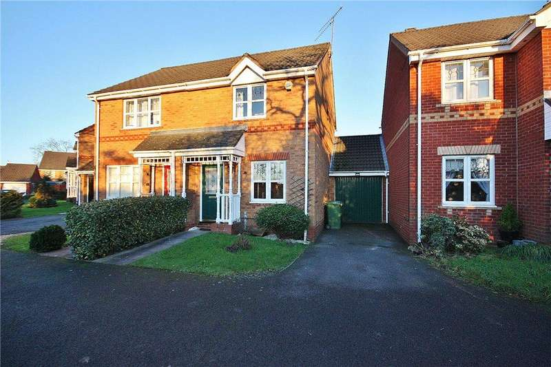 2 Bedrooms Semi Detached House for rent in Greenford Close, Redditch, Worcestershire, B97