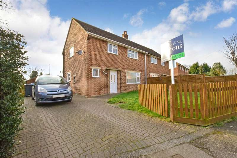 3 Bedrooms Semi Detached House for sale in Parnham Close, Nether Broughton, Melton Mowbray
