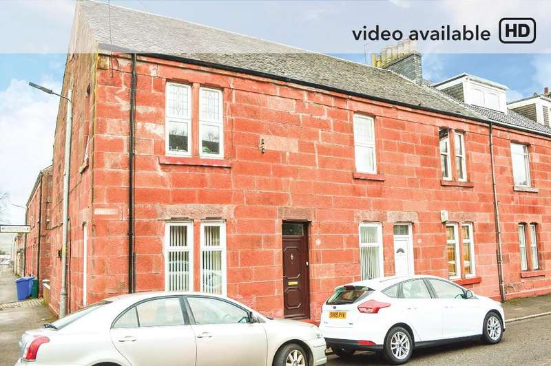 1 Bedroom Flat for sale in Smollett Street, Alexandria, Dunbartonshire, G83 0DS