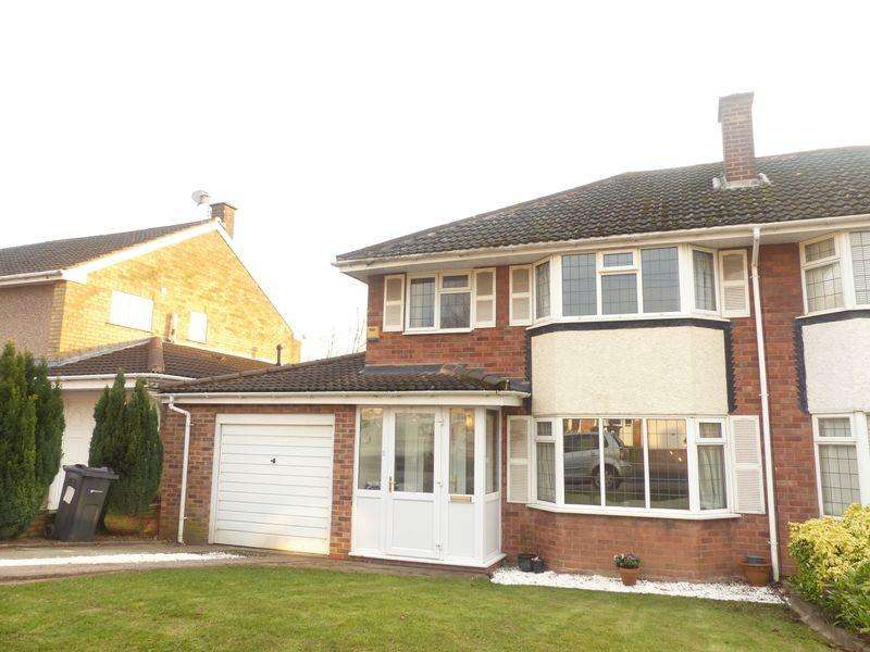 4 Bedrooms Semi Detached House for sale in Streather Road, Four Oaks, Sutton Coldfield