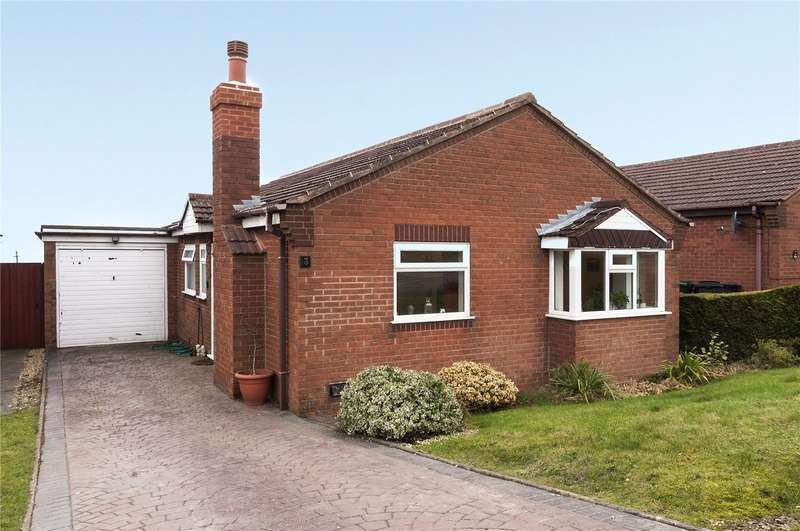 2 Bedrooms Detached Bungalow for sale in 3 Dhustone Close, Clee Hill, Ludlow, Shropshire, SY8