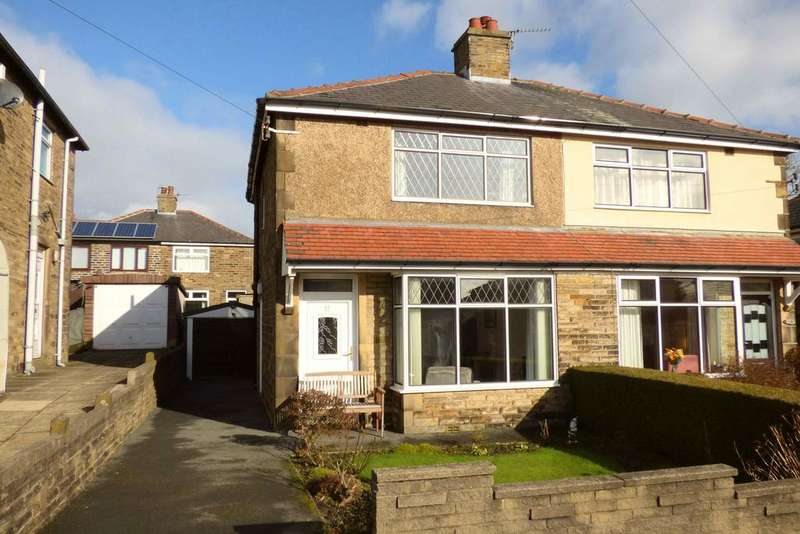 2 Bedrooms Semi Detached House for sale in 77 Gleanings Avenue, Norton Tower, Halifax HX2 0NU