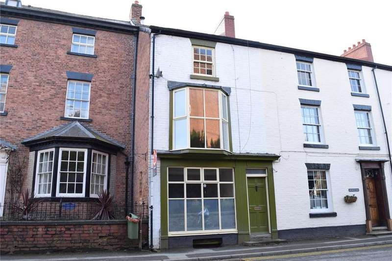 4 Bedrooms Terraced House for sale in High Street, Llanfyllin, Powys
