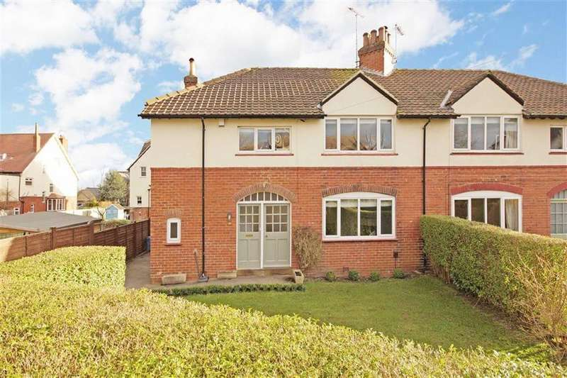 4 Bedrooms Semi Detached House for sale in Waverley Crescent, Harrogate, North Yorkshire