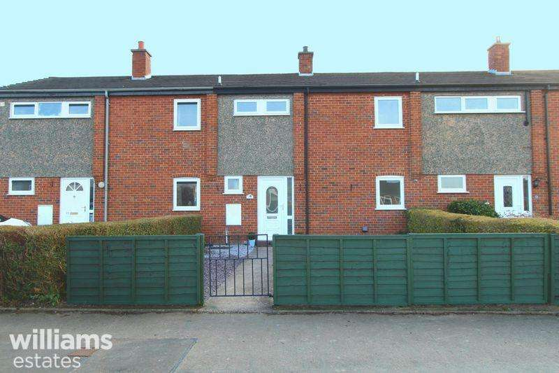 2 Bedrooms Terraced House for sale in Cae Seren, Ruthin