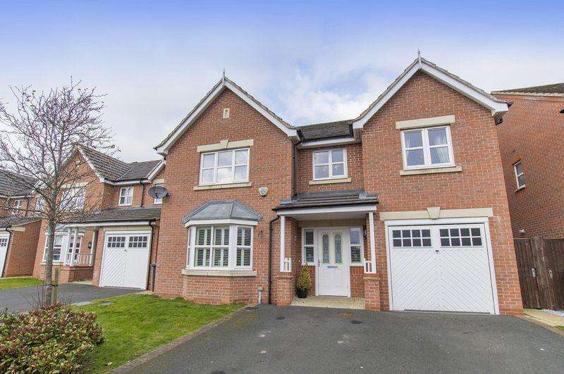 4 Bedrooms Detached House for sale in POPPYFIELDS DRIVE, MICKLEOVER