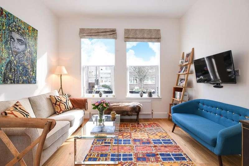 1 Bedroom Flat for sale in Netherwood Road, Brook Green