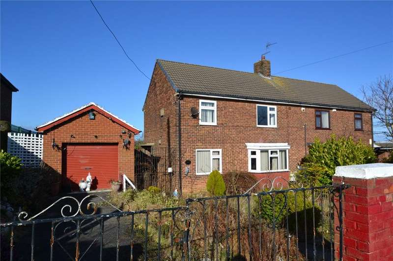 3 Bedrooms Semi Detached House for sale in Police Houses, Micklehill Road, Blackhall, Co Durham, TS27