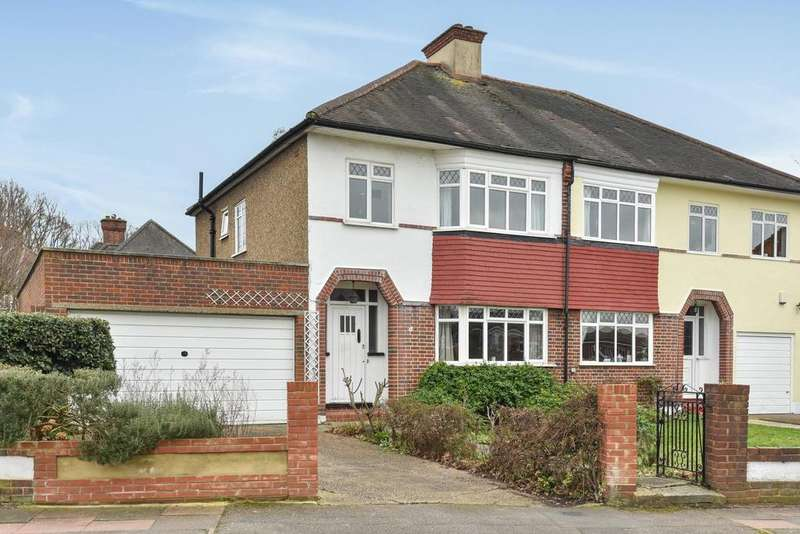 3 Bedrooms Semi Detached House for sale in Greycot Road, Beckenham