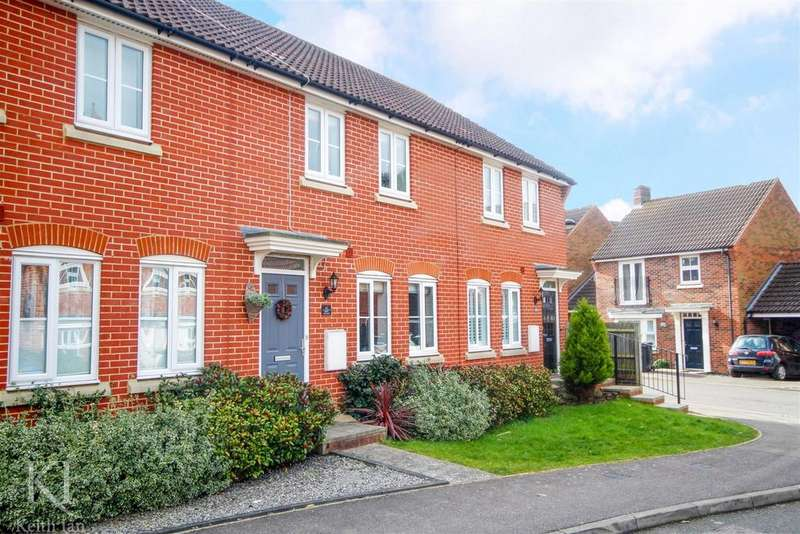 3 Bedrooms Terraced House for sale in Lady Margaret Gardens, Ware