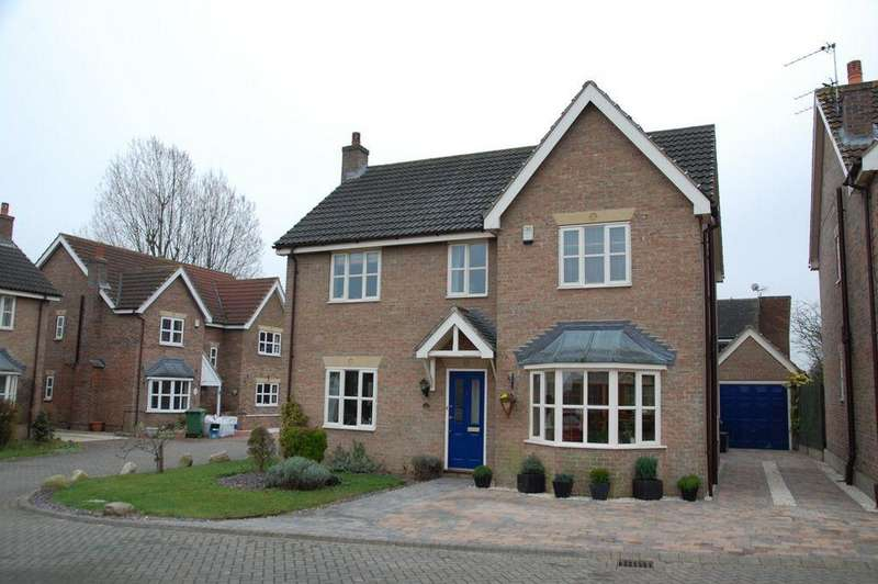 4 Bedrooms Detached House for rent in Staniwells Drive, Broughton, North Lincolnshire