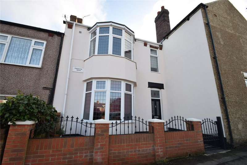 3 Bedrooms Terraced House for sale in Claude Terrace, Murton, Seaham, Co Durham, SR7