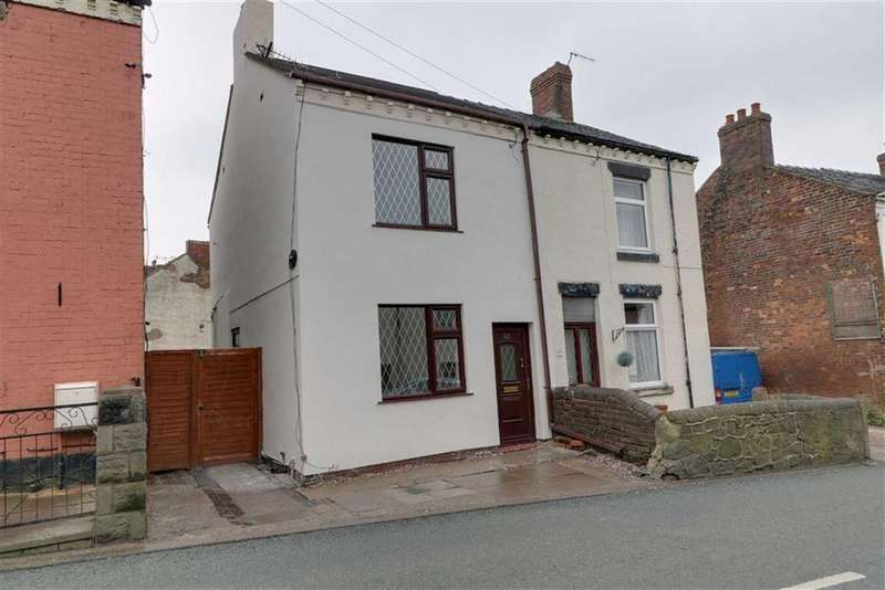 2 Bedrooms Semi Detached House for sale in Chapel Lane, Harriseahead, Stoke-on-Trent