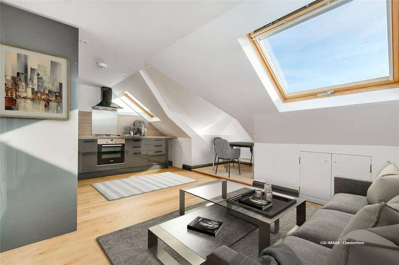 1 Bedroom Flat for sale in Buxton Gardens, Acton, London