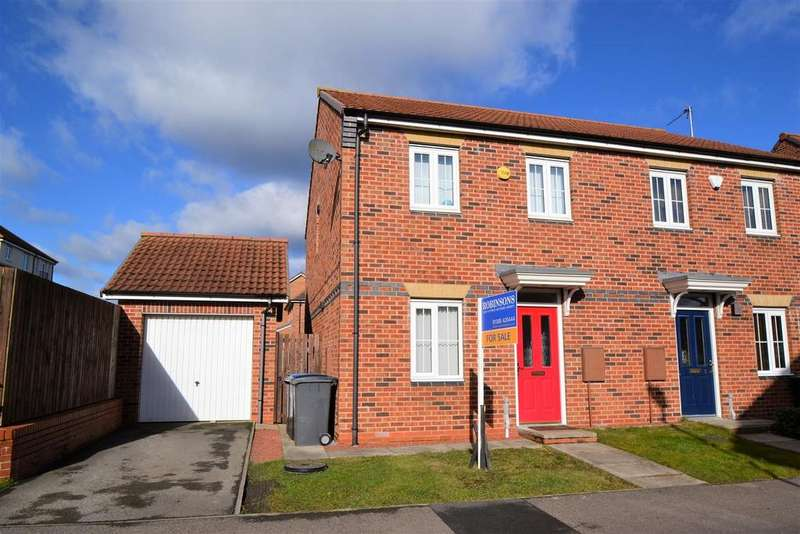3 Bedrooms Semi Detached House for sale in Harewood Close, Spennymoor