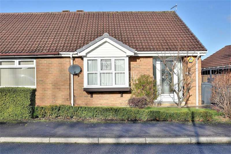 2 Bedrooms Bungalow for sale in Sheldrake Close, Thorpe Hesley