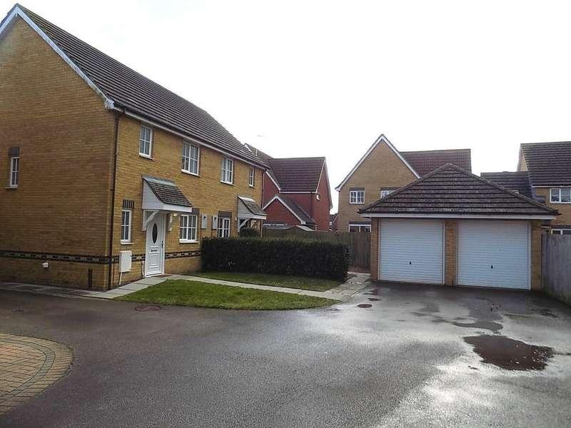 3 Bedrooms Semi Detached House for sale in Teachers Close, Manea